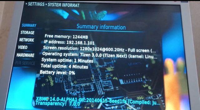 XBMC Kodi Tizen