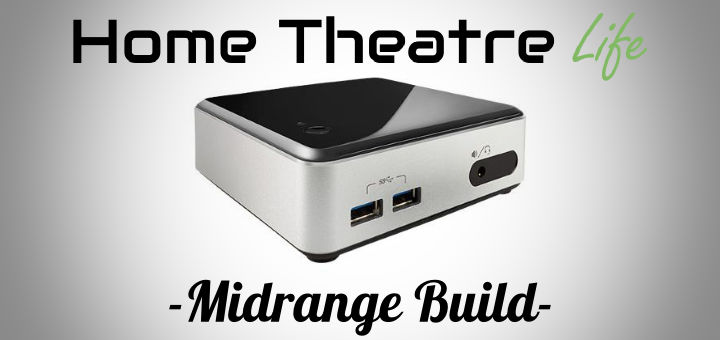Intel NUC HTPC Build