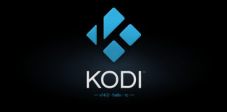 Kodi 14 RC Splash Screen
