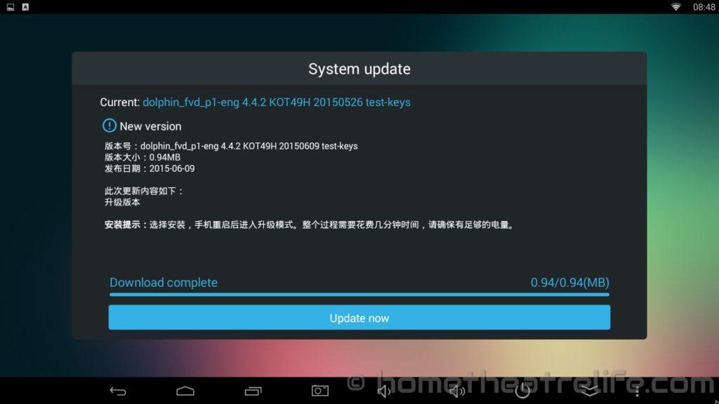 Tronsmart-Draco-H3-Android-OTA