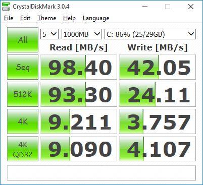 Tronsmart-Ara-X5-CrystalDiskMark