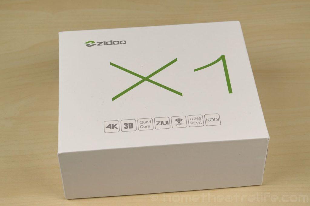 Zidoo-X1-Box