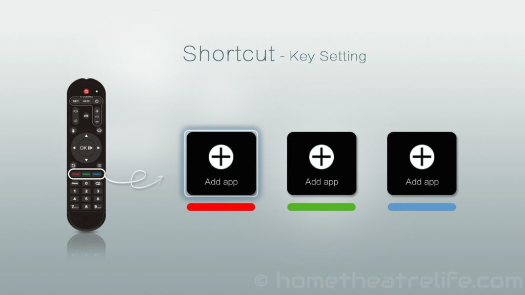 Zidoo-X1-ZIUI-Remote