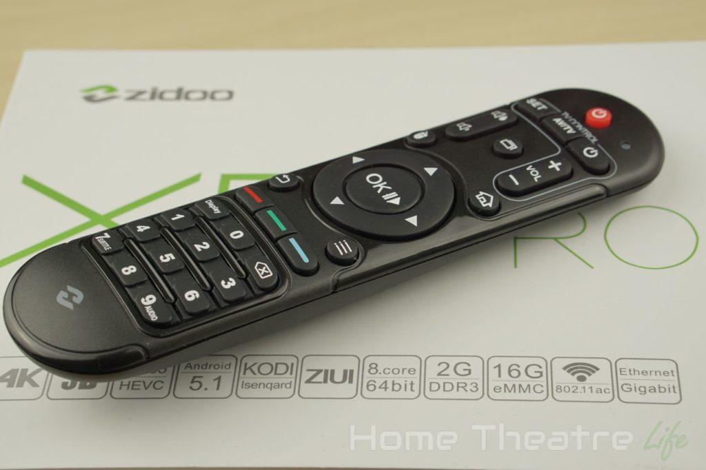 Zidoo-X6-Pro-Remote