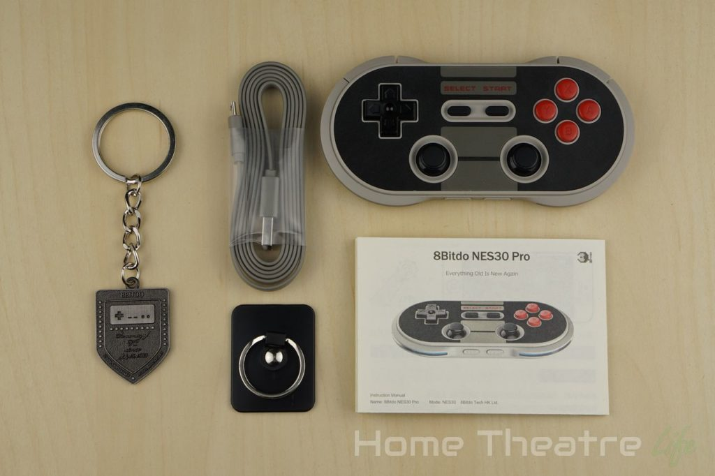 8BitDo-NES30-Pro-Review-Inside-The-Box