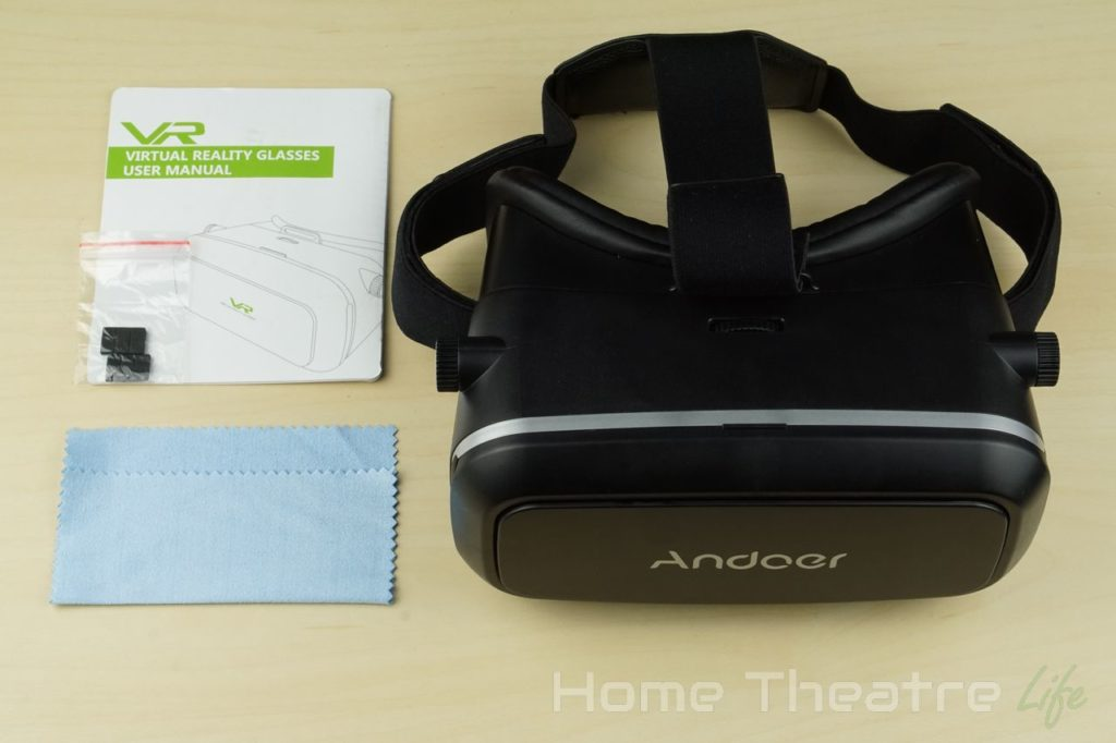 Andoer CST-09-VR-Headset-Review-Inside-The-Box