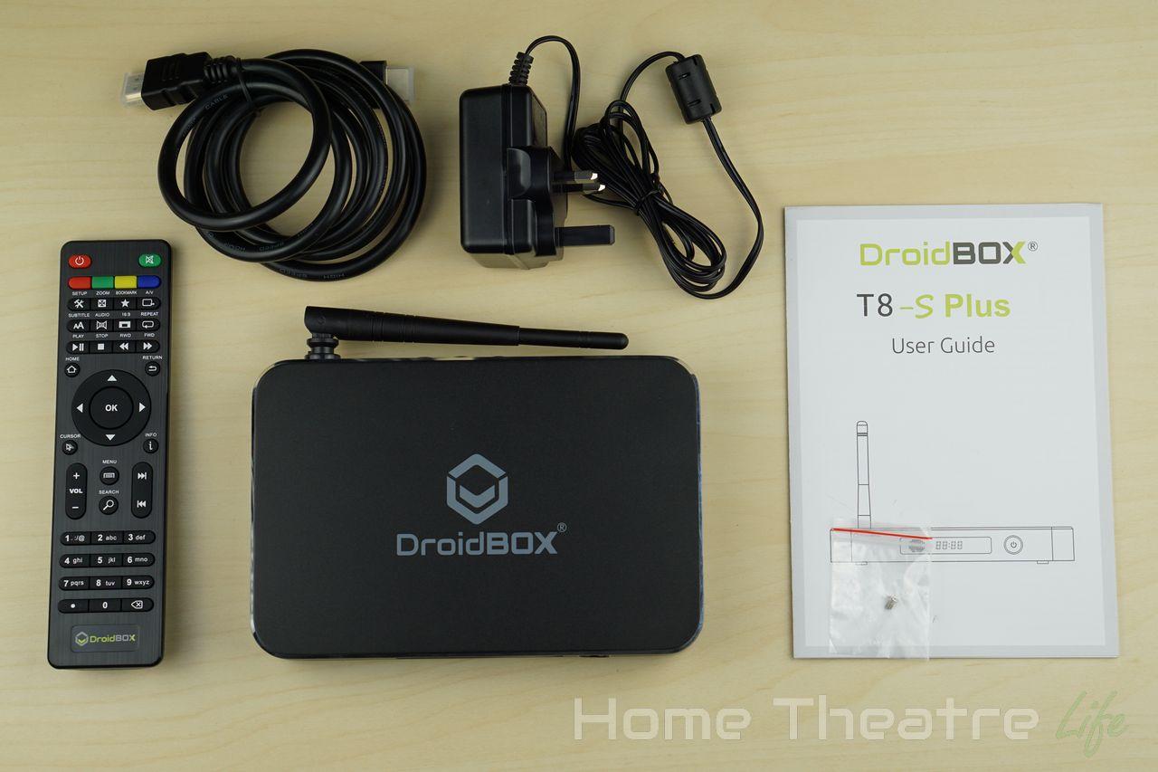 DroidBOX T8-S Plus Impressions   Home Theatre Life