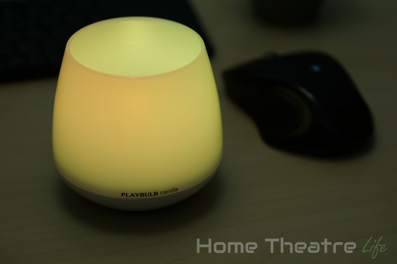 mipow playbulb candle review a smart candle seriously home theatre life. Black Bedroom Furniture Sets. Home Design Ideas