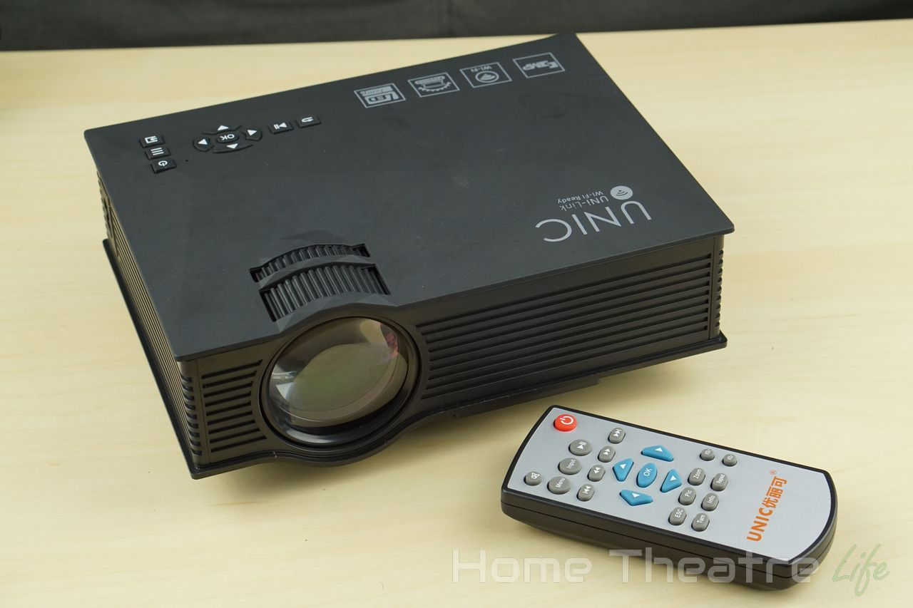UNIC UC46 1200LM LED Multimedia Projector Review: How Good