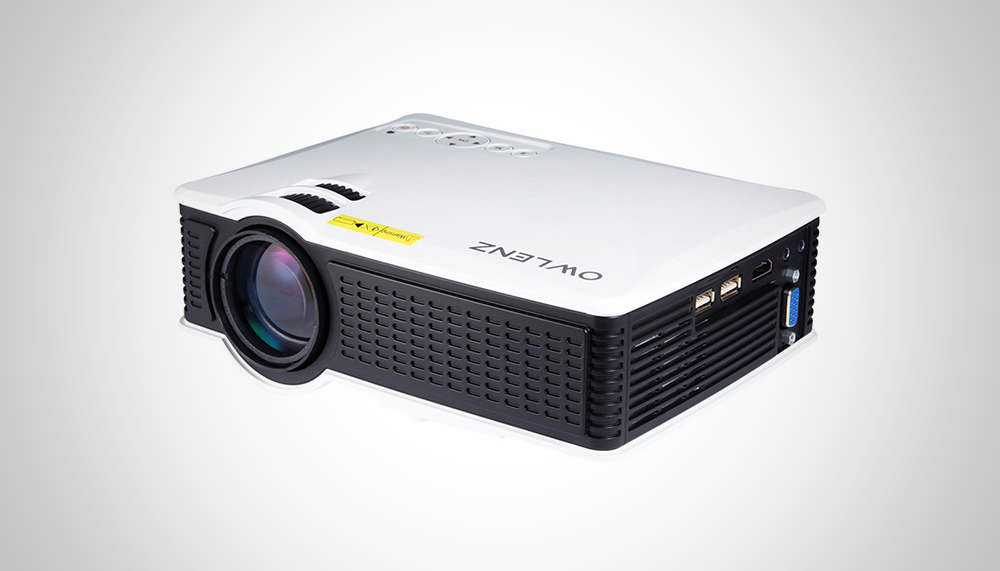 70 Owlenz Sd50 Lcd Projector Features 800x480 Pixel