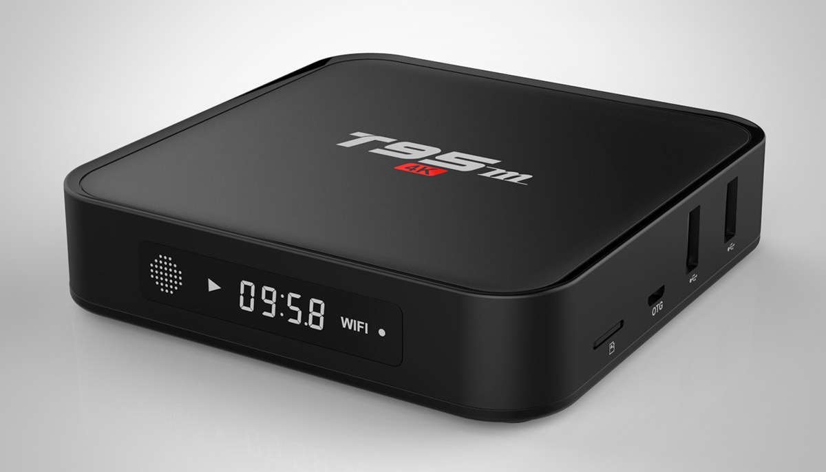Sunvell T95M Android Box Features Amlogic S905 and LED