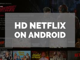 HD Netflix on Android Featured Image