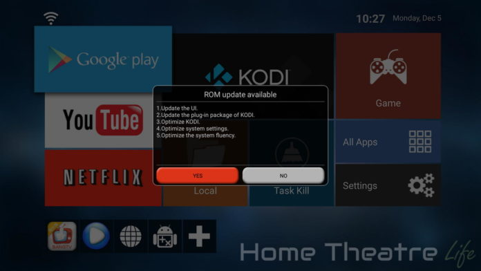 Streaming Media Player, Android TV Box