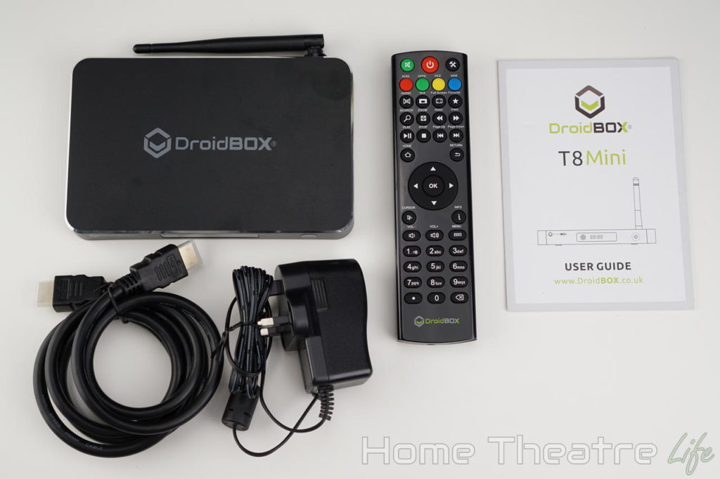DroidBOX T8 Mini Android TV Box Review | Home Theatre Life