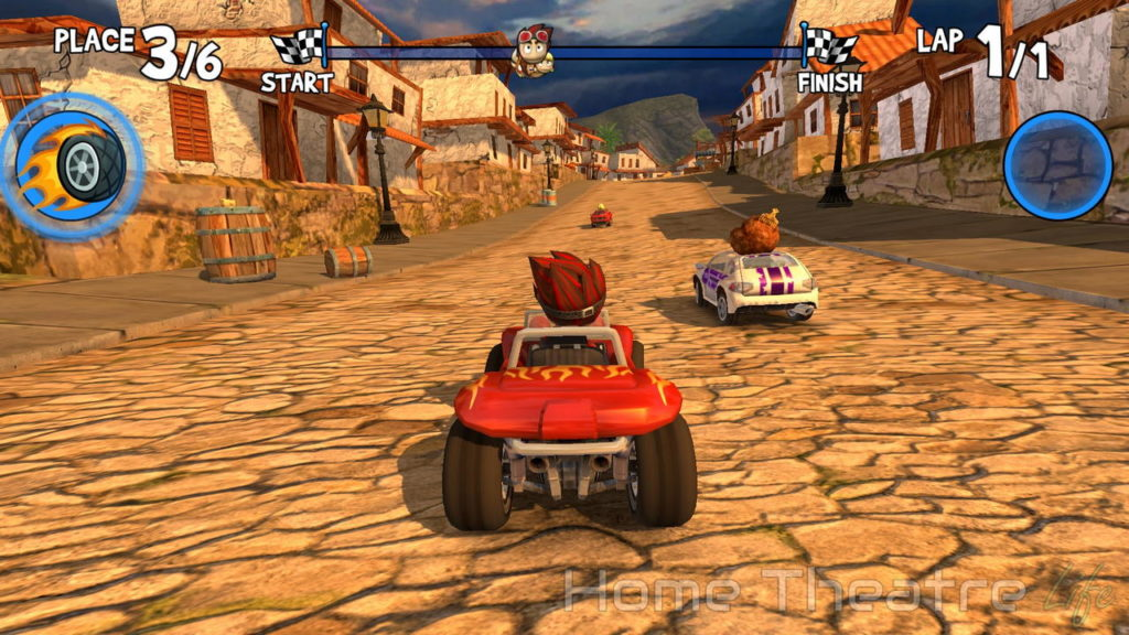 Chuwi HiBox Hero Review Beach Buggy Racing