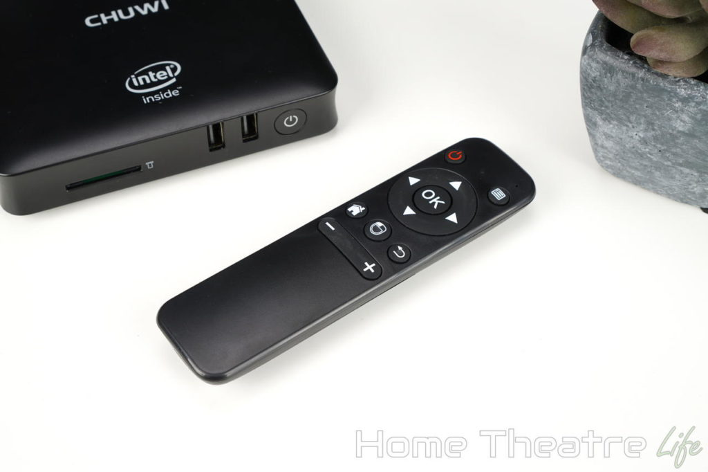 Chuwi HiBox Hero Review Remote