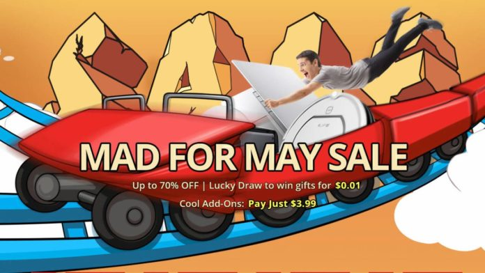 GearBest Mad for May Sale