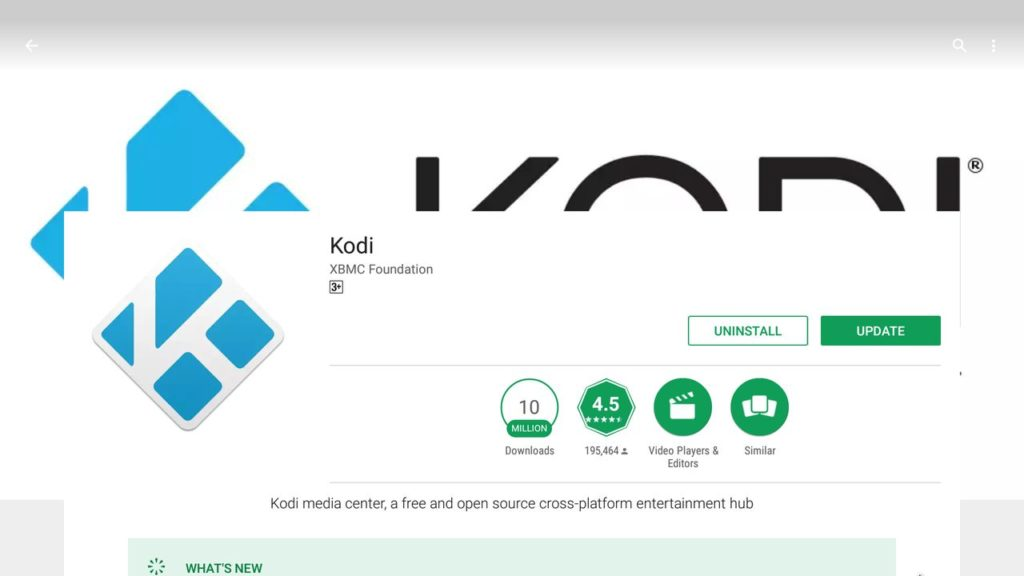 Install Kodi for Chromebooks using Google Play
