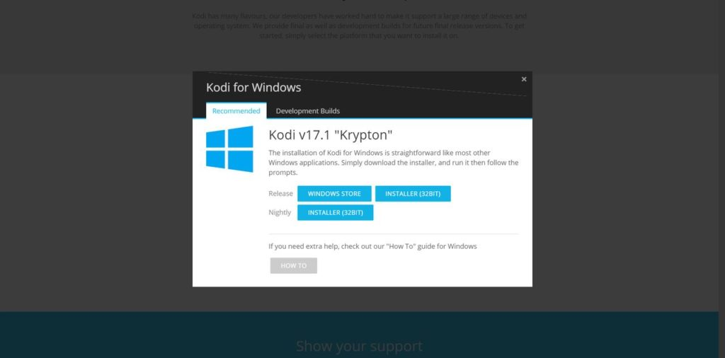 How To Update Kodi Download Windows Installer