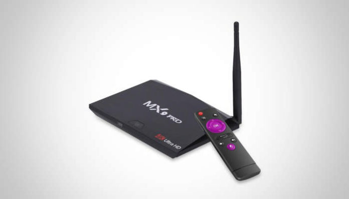 MX9 PRO Android TV BOX with Rockchip RK3328