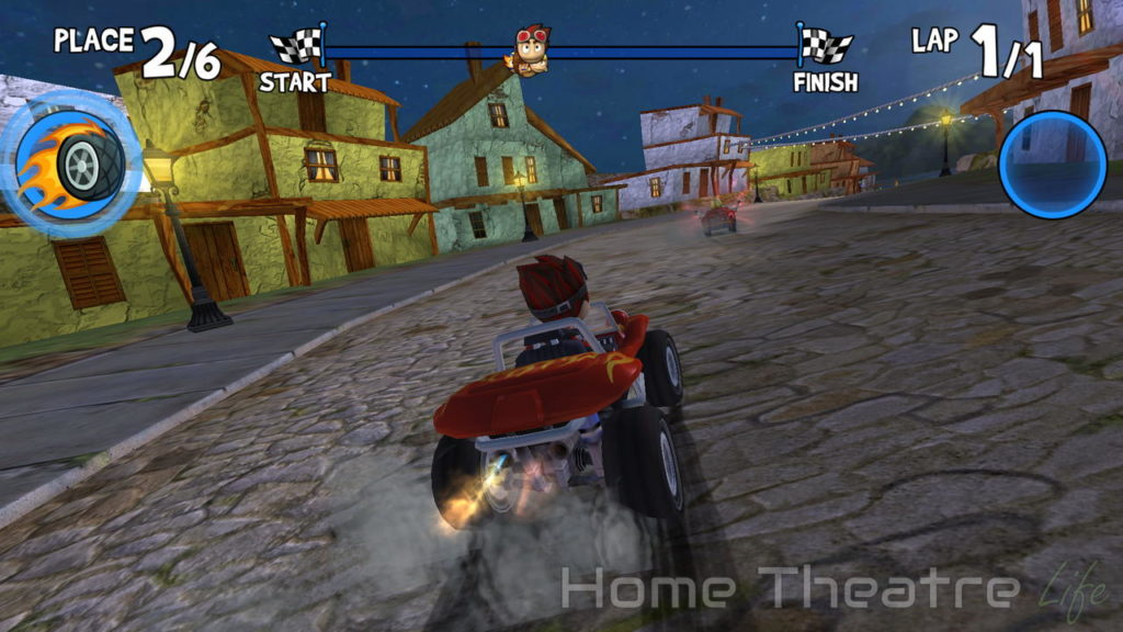R TV Box K99 Review Android Beach Buggy Racing 02