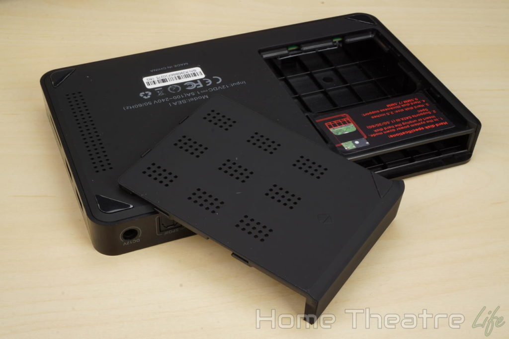 Beelink SEA I Review HDD Bay
