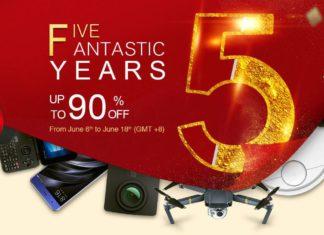 GeekBuying 5th Anniversary Sale