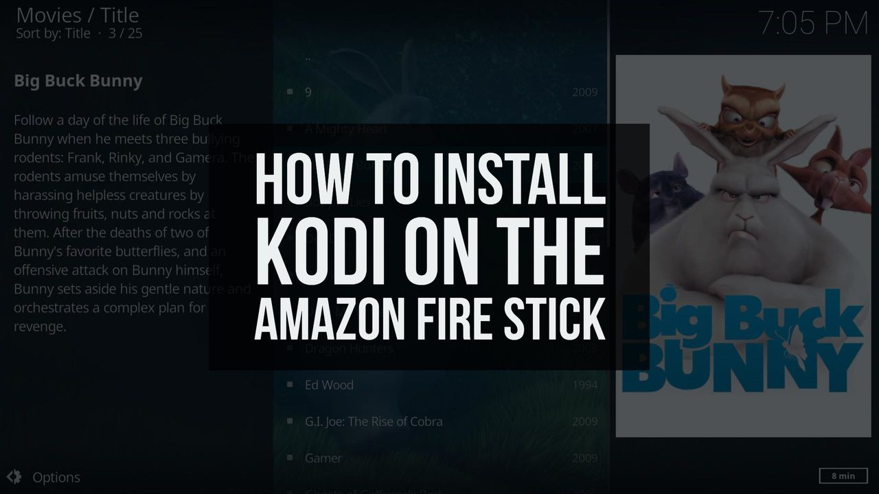 kodi installed on firestick