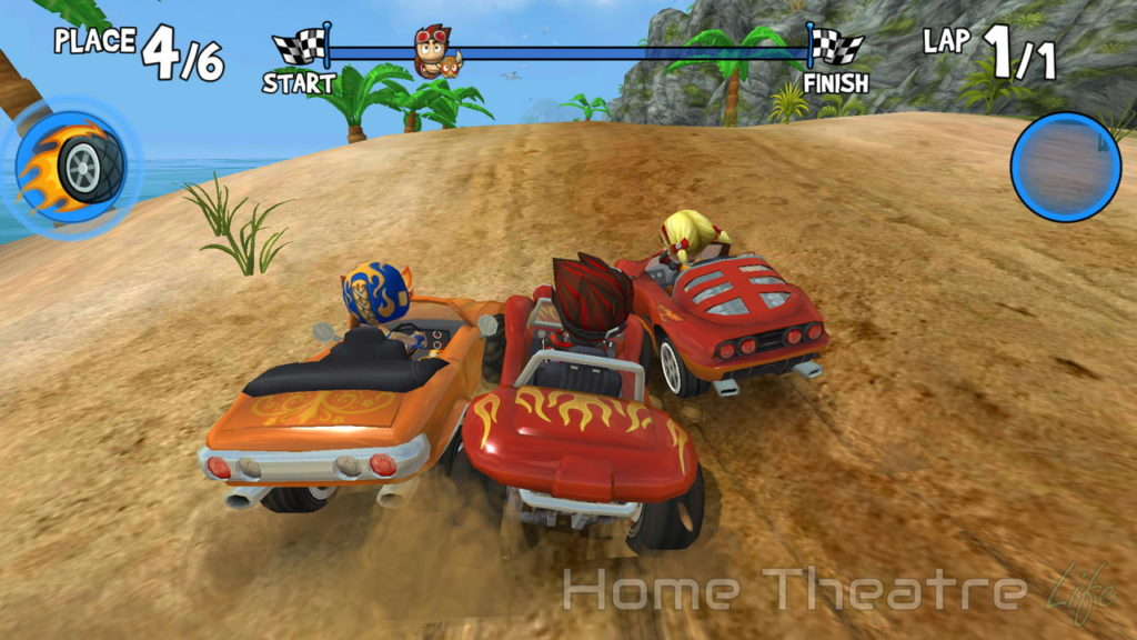 Amazon Fire TV vs Fire Stick: Beach Buggy Racing