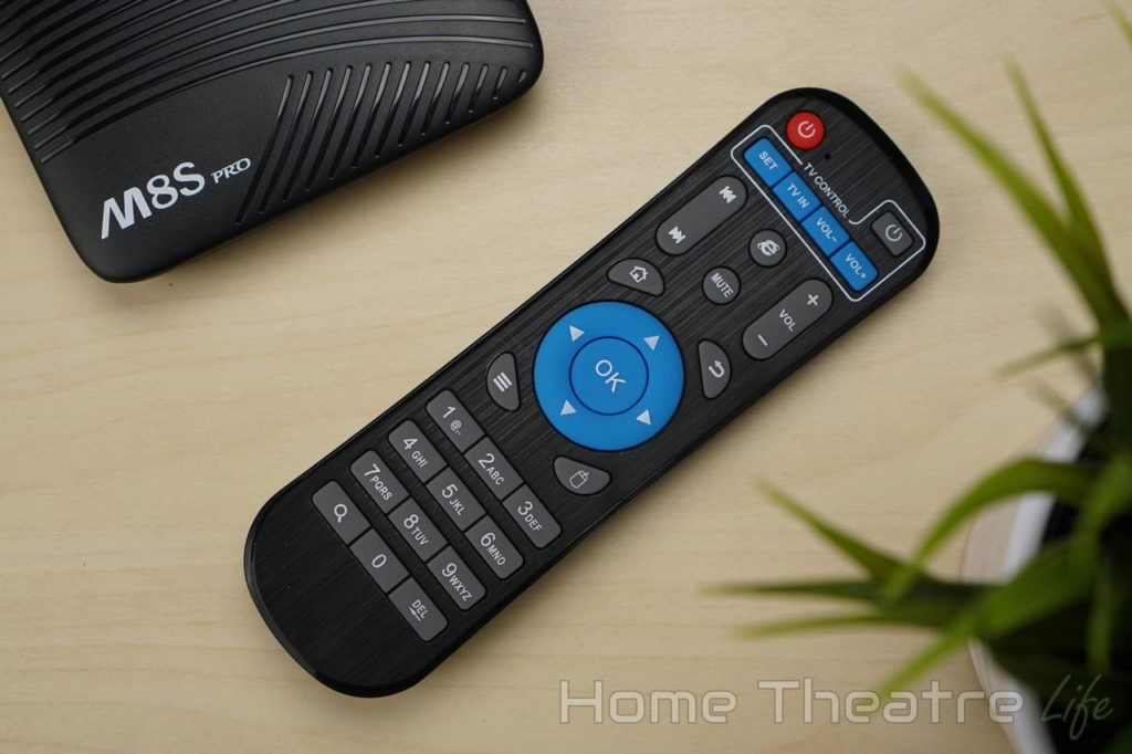 MECOOL M8S Pro Review Remote