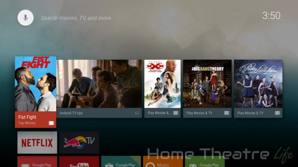 What is an Android TV: Xiaomi Mi Box Leanback Launcher
