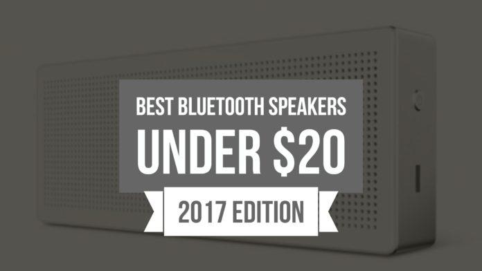 Best Bluetooth Speakers Under $20