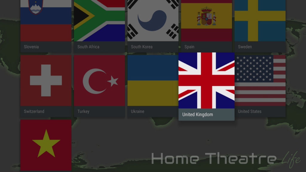 How to Install VPN on Firestick: IPVanish App Country List