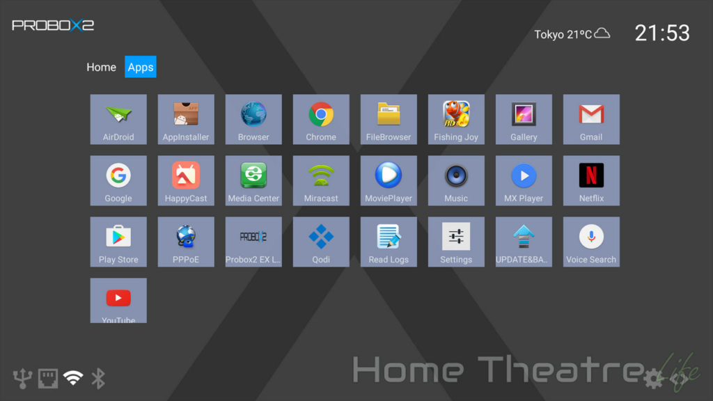 PROBOX2 Air Plus Review: Android Launcher 02