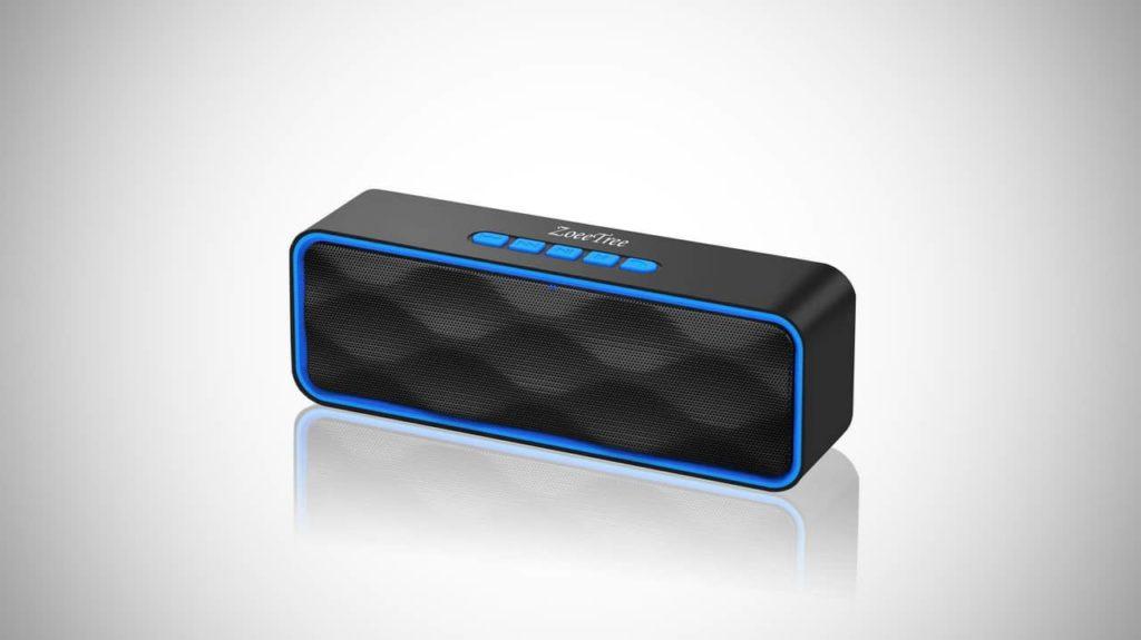 Best Cheap Bluetooth Speakers Under $20: ZoeeTree S1 Bluetooth Speaker