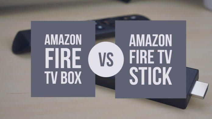 Amazon Fire TV Box vs Fire Stick Featured