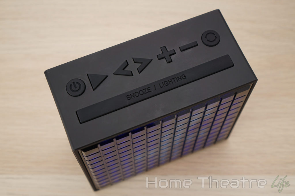 Divoom Timebox Review: Buttons