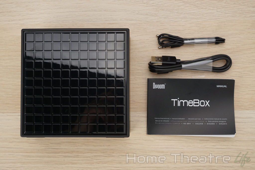 Divoom Timebox Review: In The Box