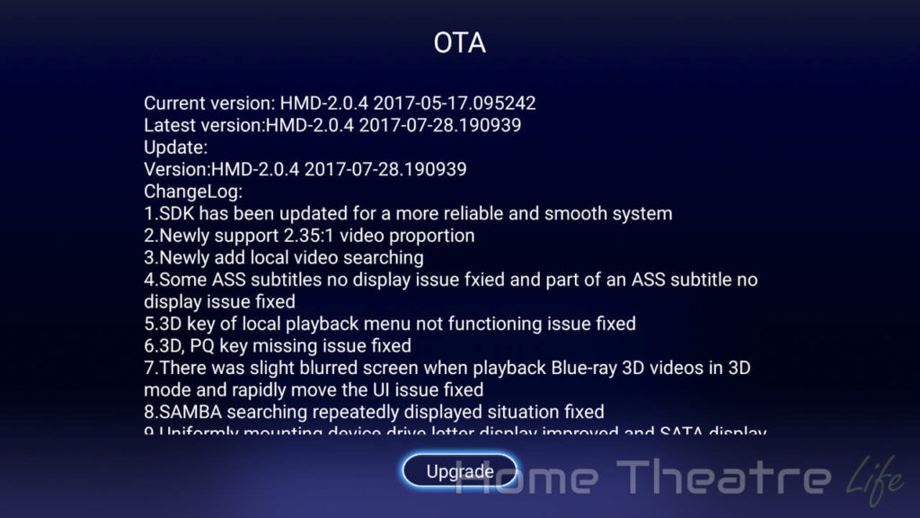 HiMedia Q30 Review Android OTA Updates