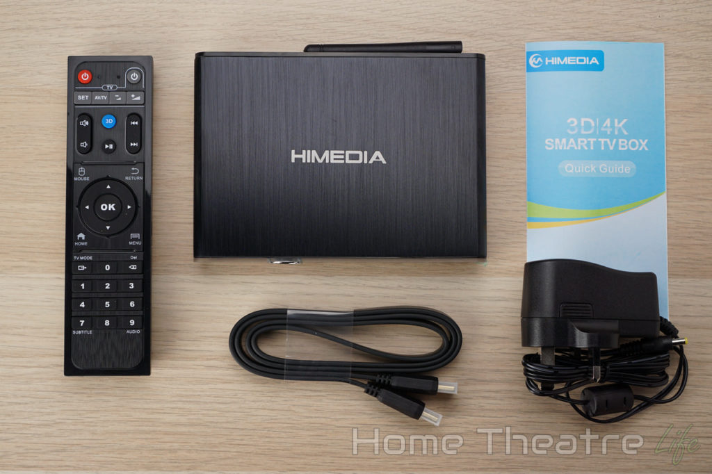 HiMedia Q30 Review In The Box