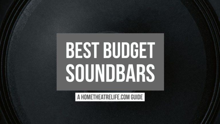 Best Budget Soundbars 2018 Guide Featured Image
