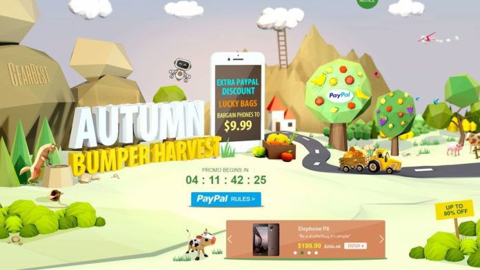 GearBest Autumn Bumper Harvest Sale September 2017