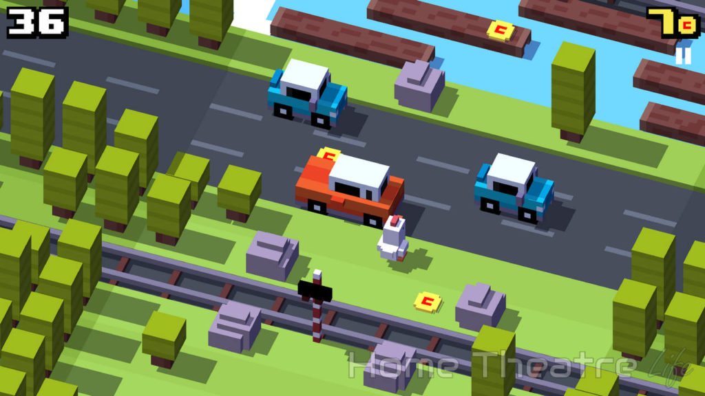 H96 Pro Review Android Crossy Road