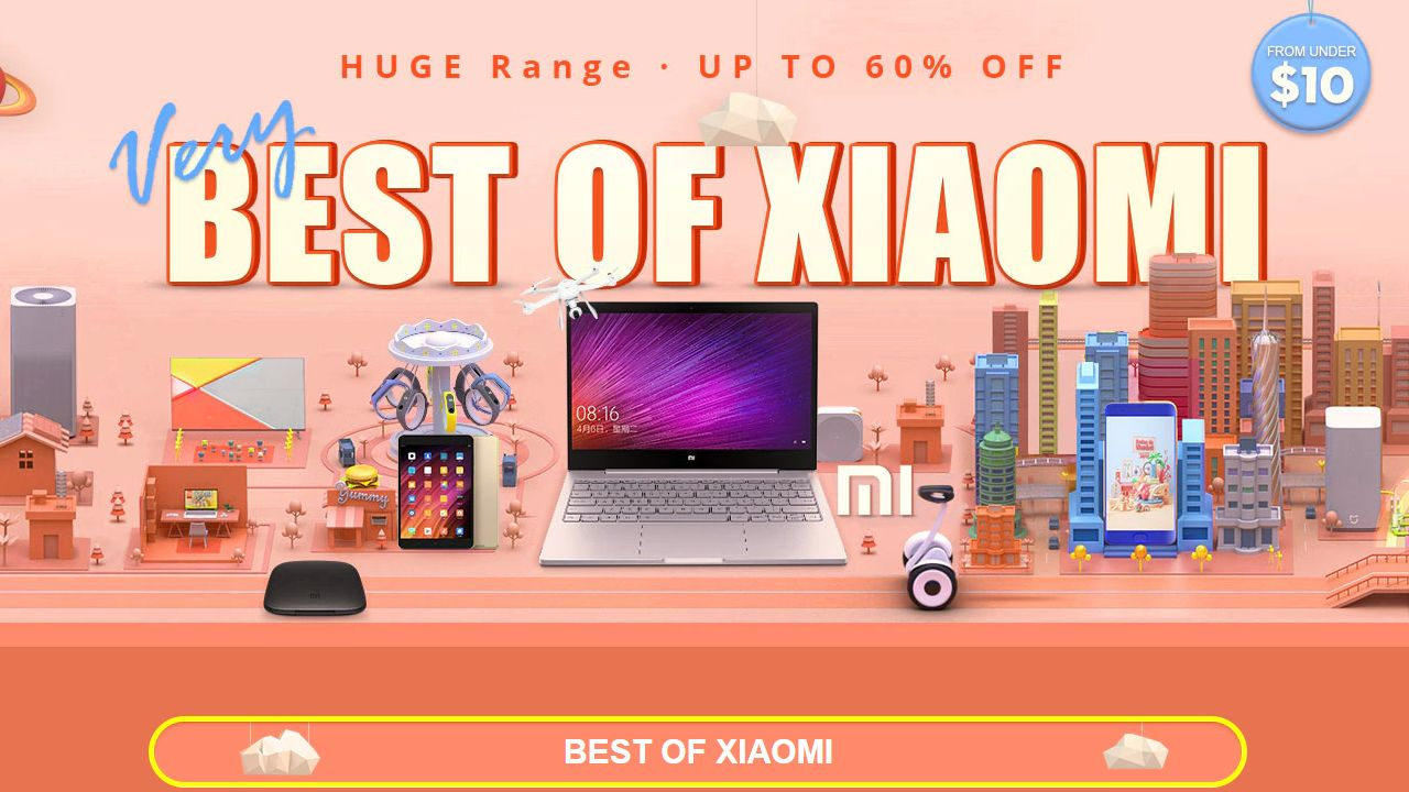 Very Best of Xiaomi GearBest Sale