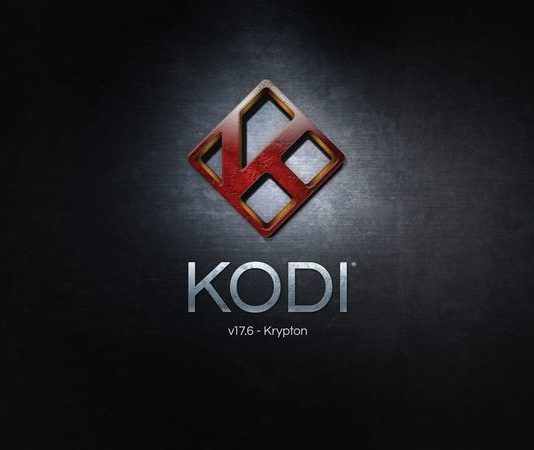 Kodi 17.6 Splash Screen