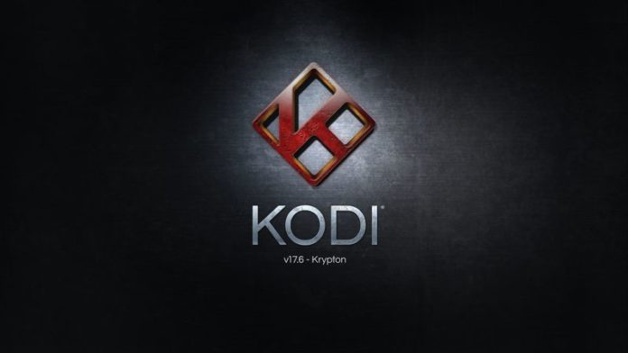 Kodi 17.6 Splash Screen