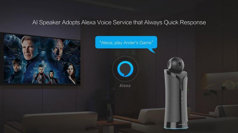 HiMedia V3C Android TV Box with Alexa N02