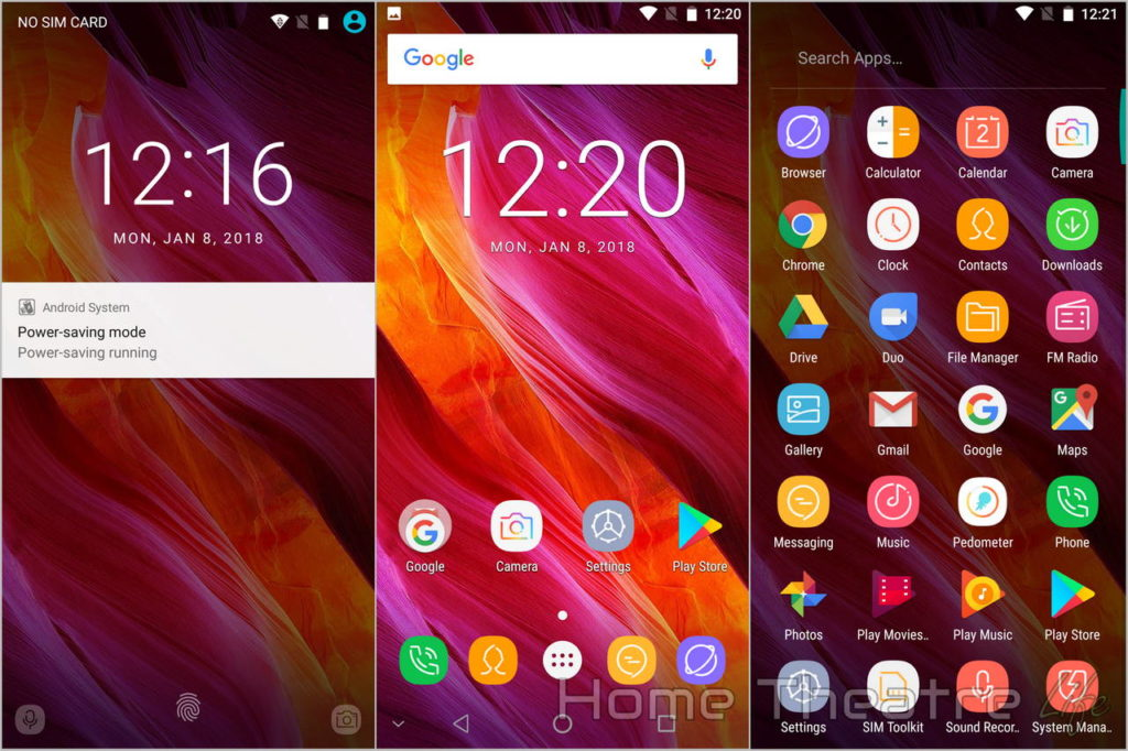 Oukitel Mix 2 Review Android Screenshots 01