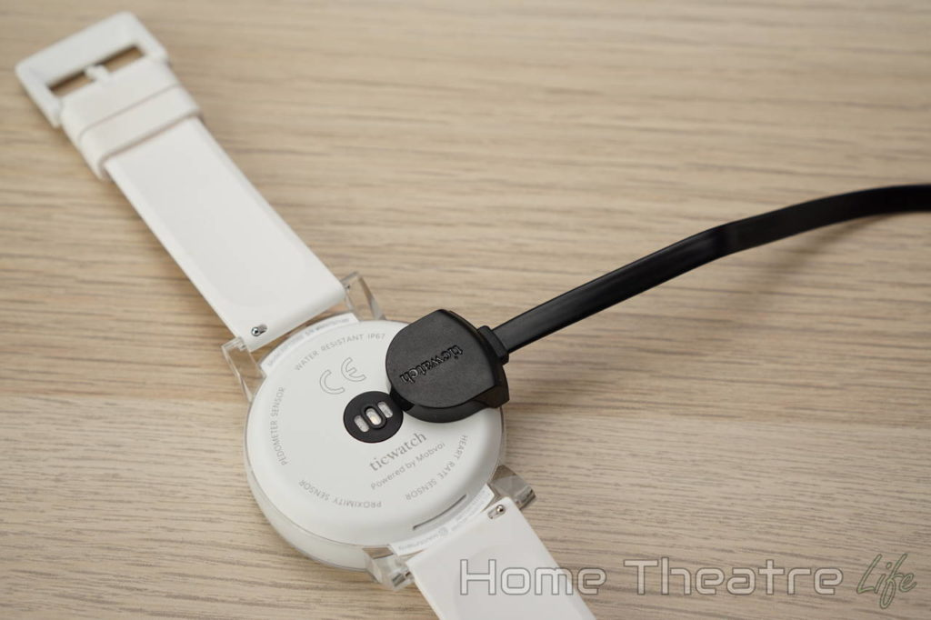 Ticwatch E Review Ticwatch Charging Cable