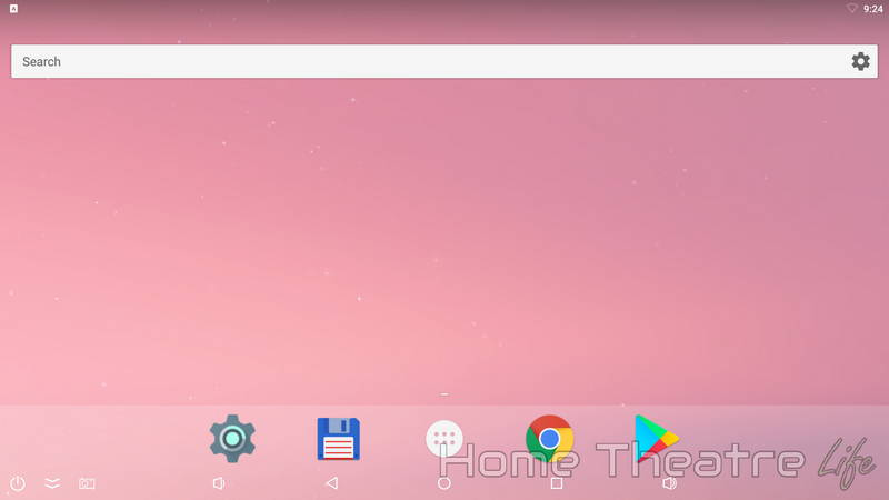 Ugoos UM4 Review: Android Launcher 01